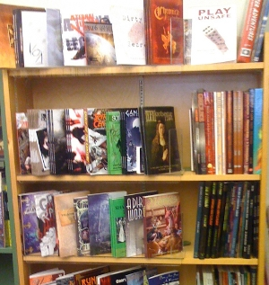 A Bookcase of Roleplaying Game Books - Like Mine Once Was