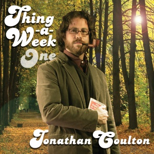 The album cover of Thing-a-Week One, by Jonathan Coulton