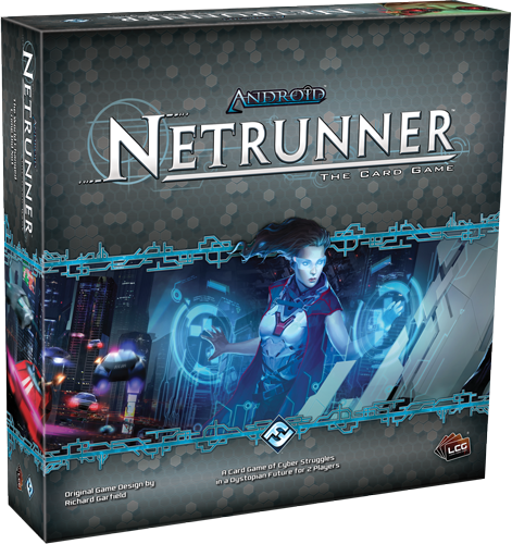 The box art for Android: Netrunner. Image from Fantasy Flight Games.