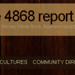 Welcome, Readers of the 4868 Report!