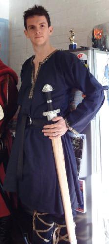 Rob the Groomsman with Sword