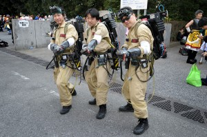 Japanese Ghostbusters cosplay